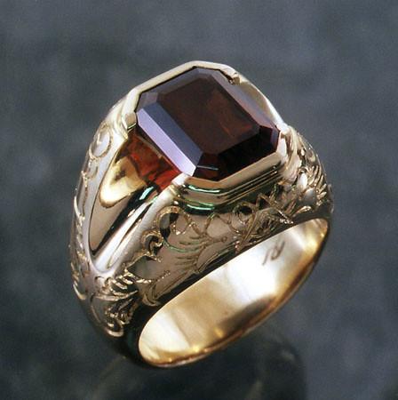 Alexandrite Ring Male