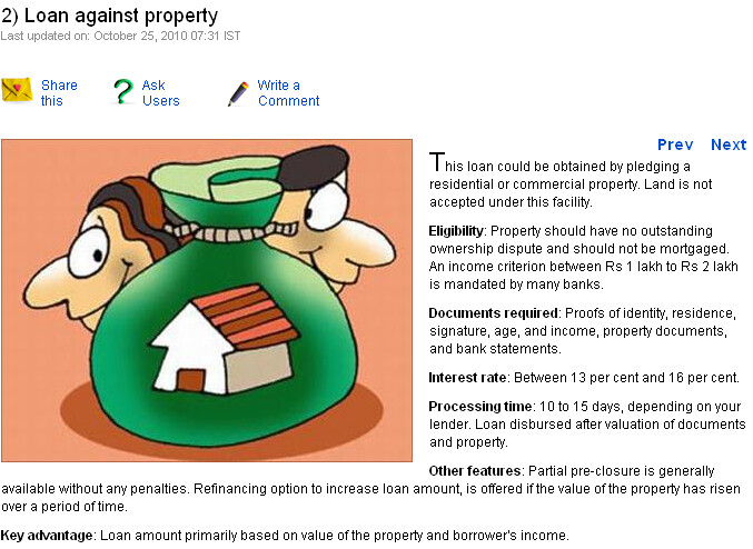 Loan Against Property Are Personal Loans The Only Option
