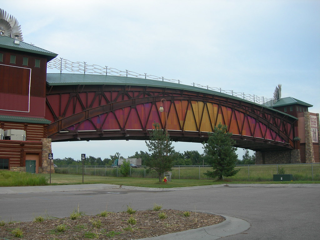 Great Platte River Road Archway Monument Spanning I 80