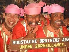 Moustache Brothers by g e c k t r e k