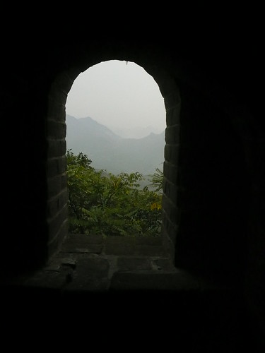 View from turret window, Great Wall of China, Beijing, China 2.JPG | by gruntzooki