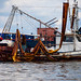 What used to collect shrimp now collects crude oil