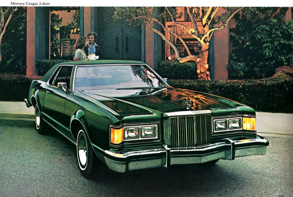 1977 Mercury Cougar 2-Door Hardtop   Shown here is Mercury ...