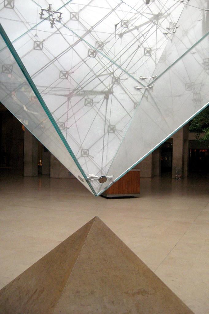Paris Mus 233 E Du Louvre La Pyramide Invers 233 E Du Louvre