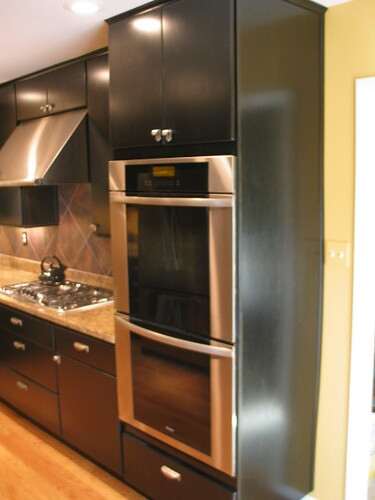 Double Wall Oven Kitchen