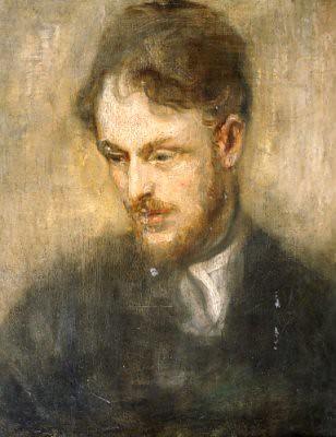 McEvoy, Ambrose (1878-1927) - 1900c. Portrait of the Artis ...