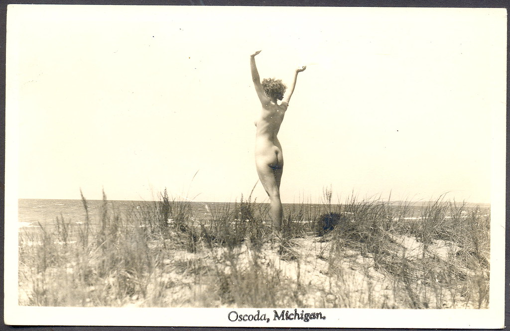 Oscoda Mi Artistic Tasteful Nude Beach Babe On Lake Huron   Flickr-5010