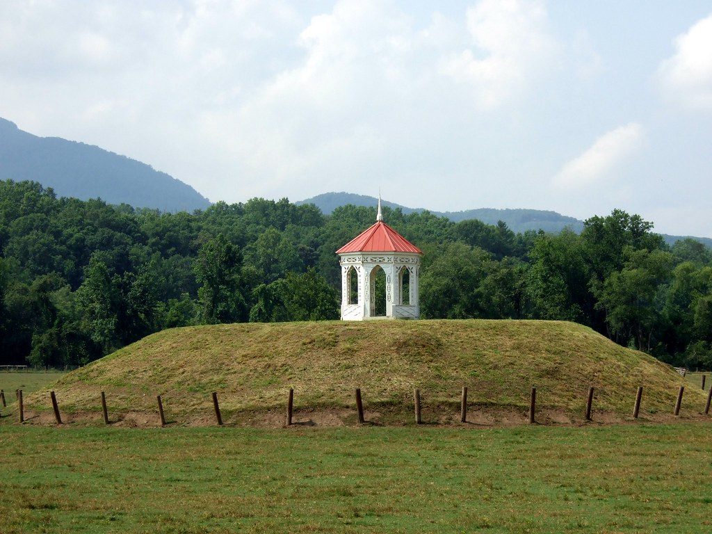 Nacoochee Indian Mound Was The Center Of The Ancient Chero