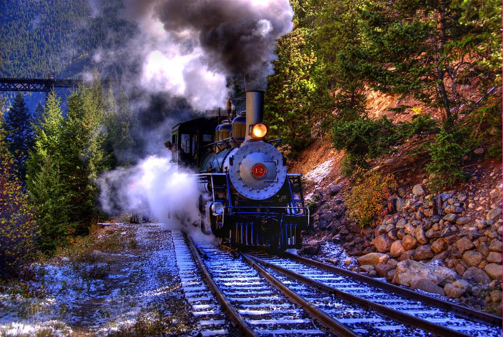 Silver Plume Co >> Georgetown Loop Railroad   Georgetown Loop Railroad steaming…   Flickr