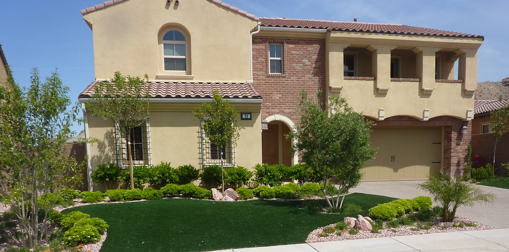 Snwa Front Yard Xeriscape Landscaper Desert Greenscapes Nv