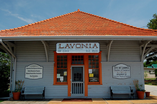 Lavonia Depot Lavonia Ga Franklin County Copyright