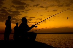 Fishing - Silhouette | by Hussain Isa