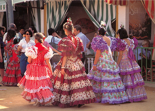 Spain Andalucia Traditional Clothing From Maestla Spa Duffeli Flickr