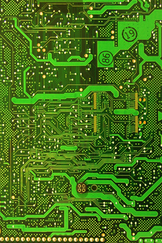 green circuitboard | iPhone wallpaper, share and enjoy ...