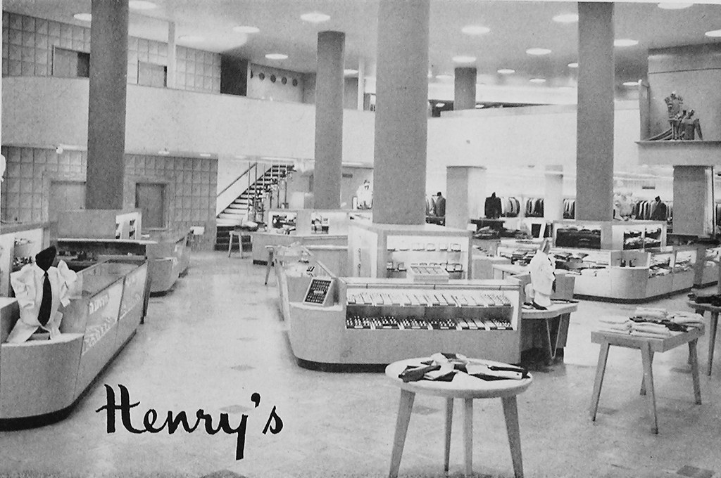 Henry S Department Store Interior Interior View Of Henry
