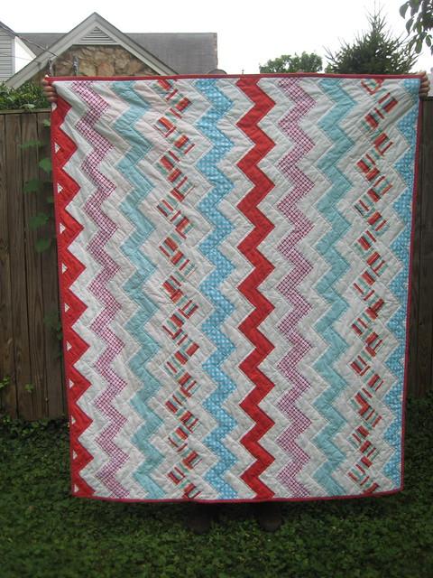 Zig Zag Love Quilt Pattern : Zig zag quilt Flickr - Photo Sharing!