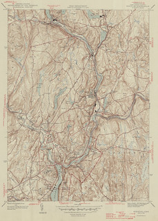 Norwich Quadrangle 1946 - USGS Topographic Map 1:31,680 | by uconnlibrariesmagic