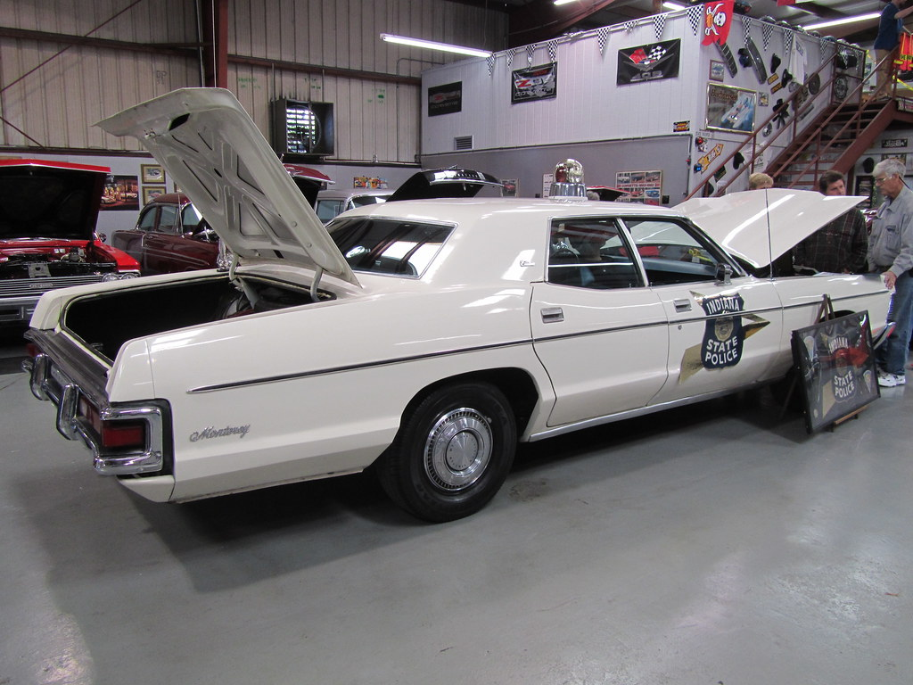 Indiana State Police - 1971 Mercury Monterey Custom | Flickr