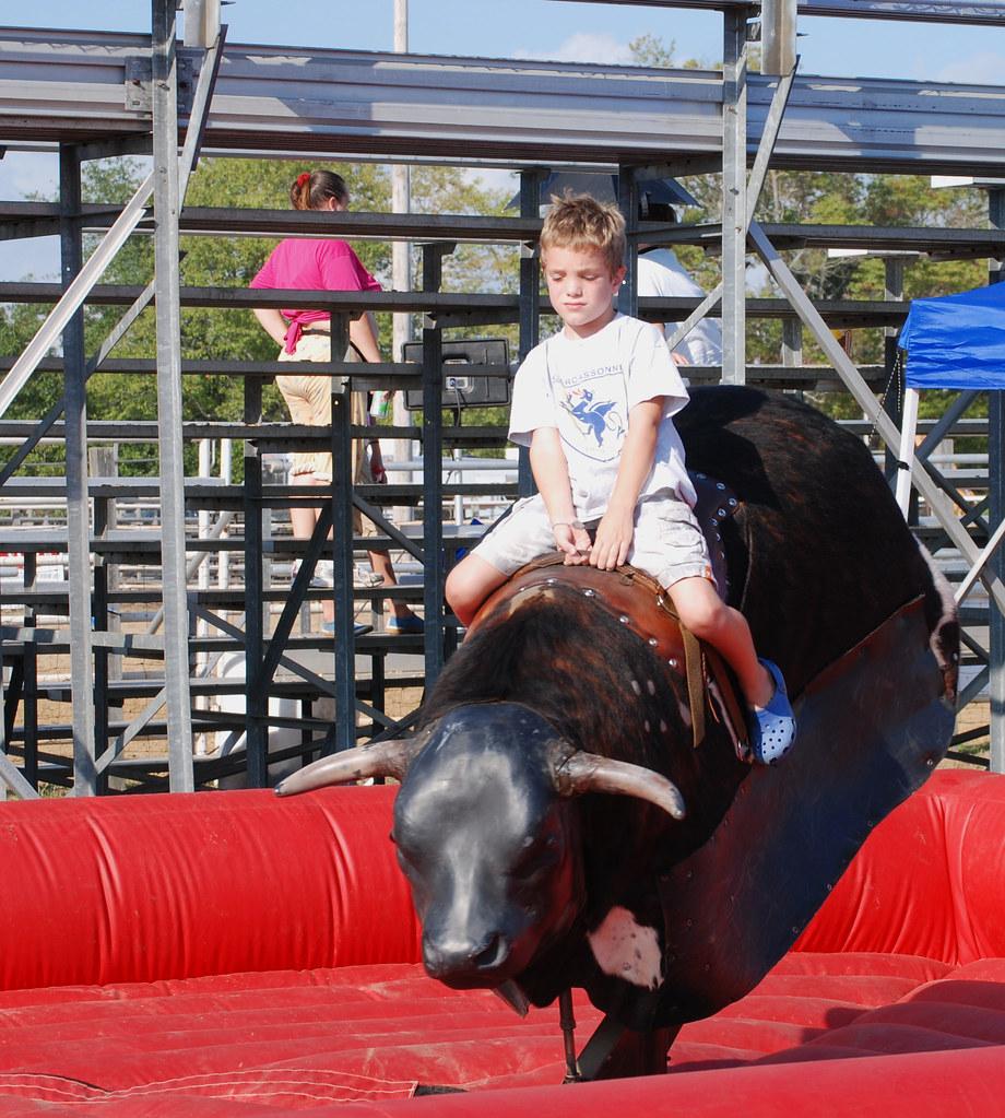 Nolan Mechanical Bull Mule Days In Benson Nc Had A Great