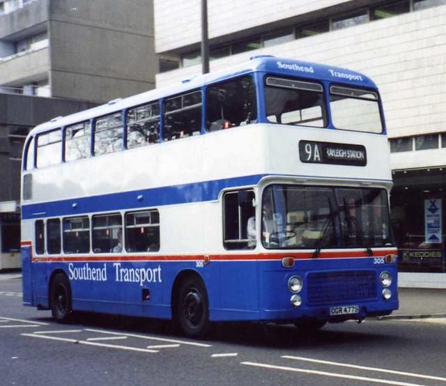 Southend Transport 305 Southend Warrior Square 27 Ex Flickr