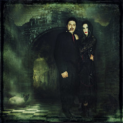 Mr. & Mrs. Addams...