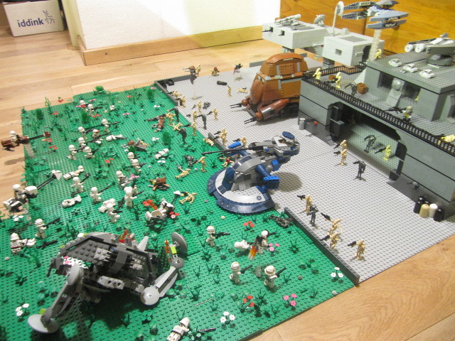 Lego Star Wars Alderaan Lego Star Wars Droid Base