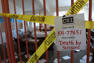 University library CSI theme Halloween 2007. | by California State University Channel Islands