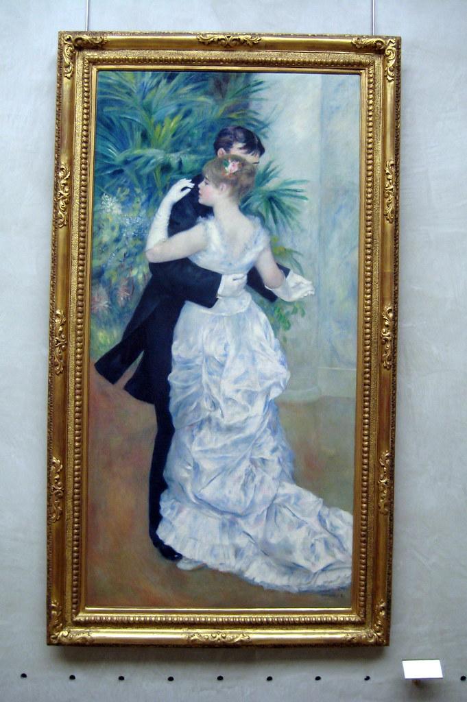 Paris mus e d 39 orsay pierre auguste renoir 39 s danse la for Piscine orsay