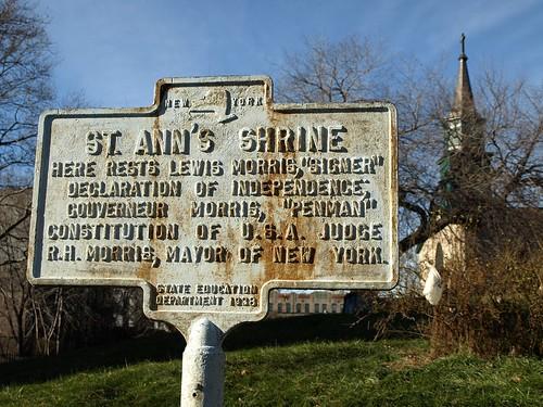St Ann 39 S Shrine Plaque Mott Haven Bronx New York City Flickr