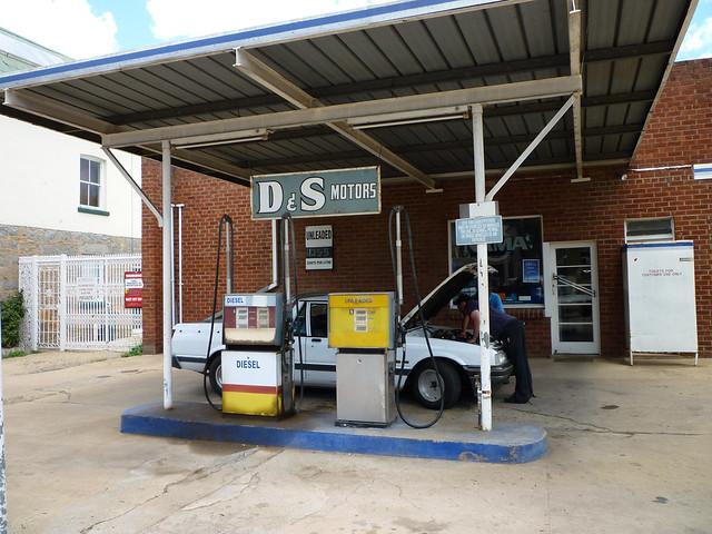 Petrol Station And Garage At Braidwood Flickr Photo