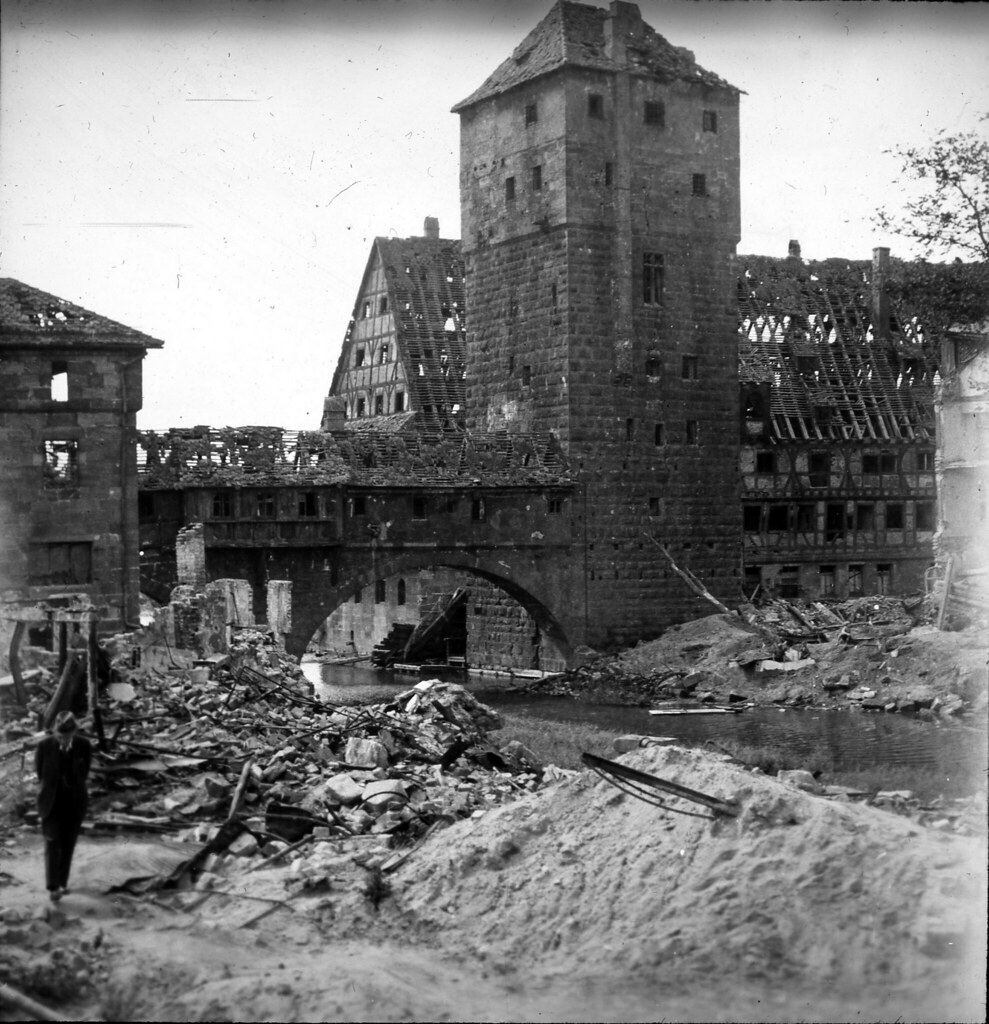 Bombed Building, Post-WWII Germany