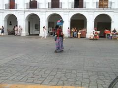 Zocalo in Juchitan