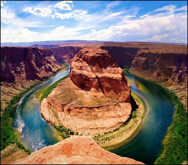 Best Places Take Pictures Arizona: Horseshoe Bend - Page, Arizona