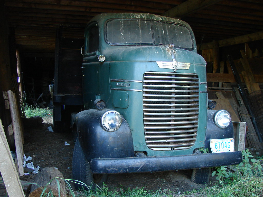 Dodge COE truck | Nice old Dodge COE I spotted while ...
