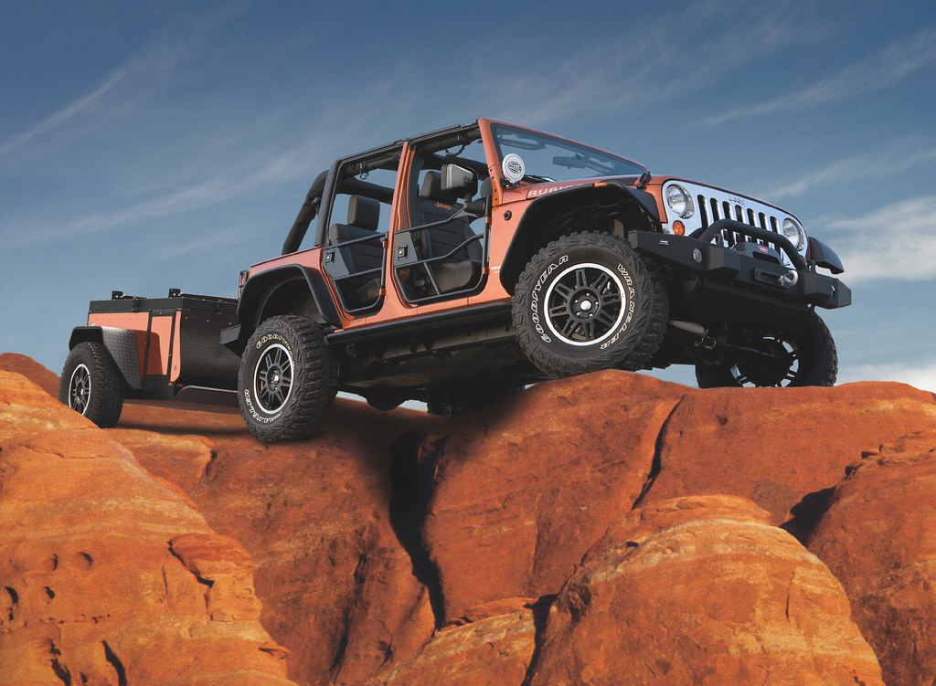 Jeep 174 Extreme Trail Edition Trailer From Mopar 174 Jeep And