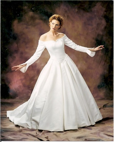 B108 darius cordell plus size bridal gowns long slee for Long sleeve plus size wedding dress