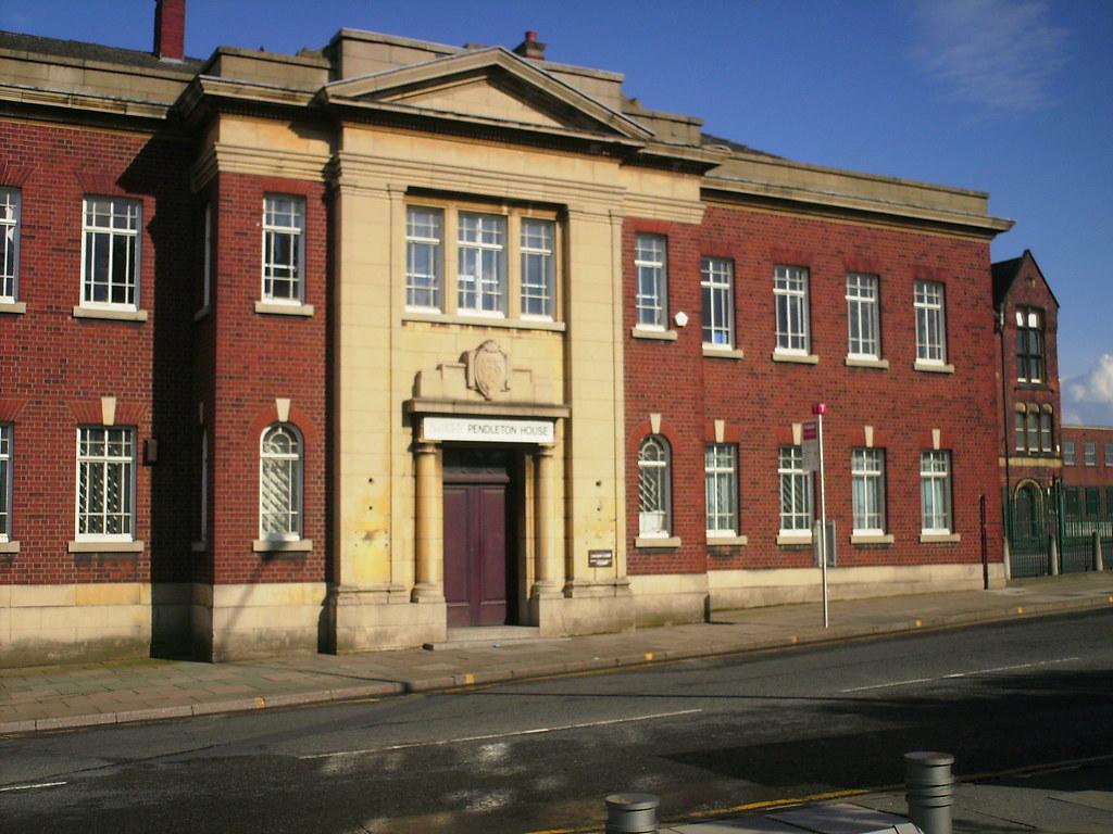 magistrates court  pendleton house  pendleton  salford