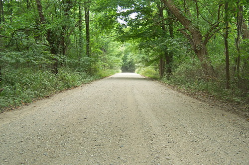 Perfect gravel road