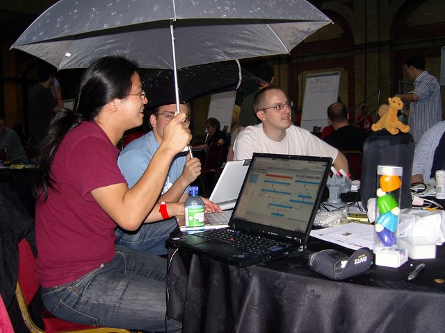 Hackday: Indoor rain