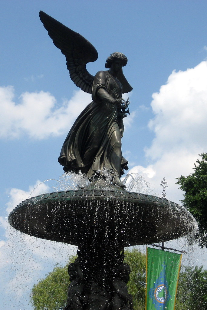 NYC - Central Park: Bethesda Fountain - Angel of Waters ...