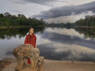 Theravada Buddhist Monk in Meditation | by Stuck in Customs