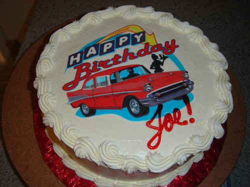 Happy Birthday With Classic Cars