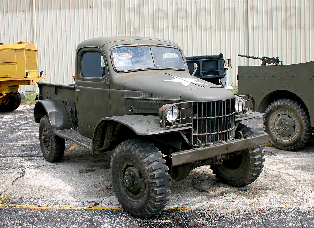 Old Military Truck | Flickr - Photo Sharing!: https://www.flickr.com/photos/chrism70/1303904027