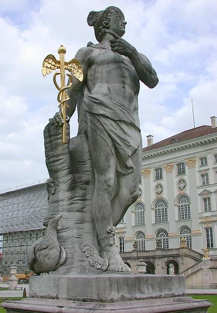 Mercury, Roman God of trade, profit and commerce ...