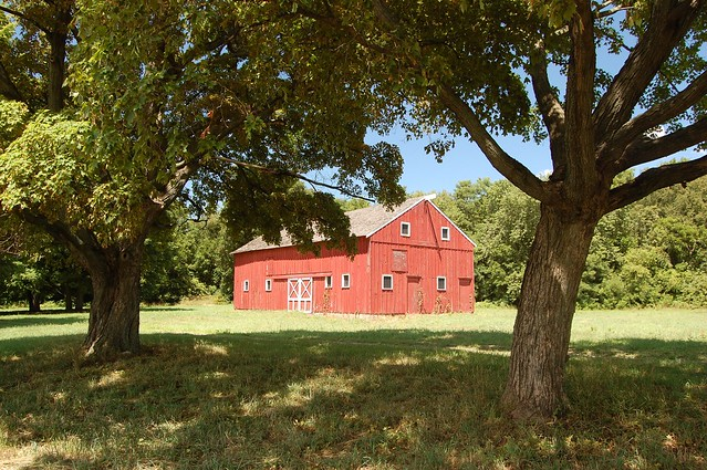 Laporte Redbarn Red Barn Next To Door Prairie Barn
