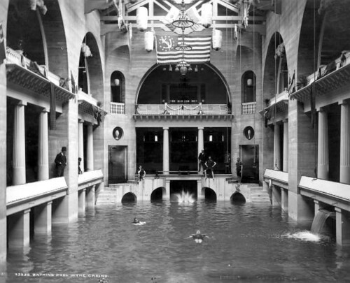 St Augustine Fl Alcazar Hotel Swimming Pool In 1905 Flickr