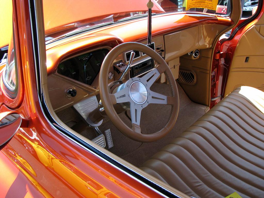 Custom 1955 Chevy Pickup Truck Interior This Truck Was