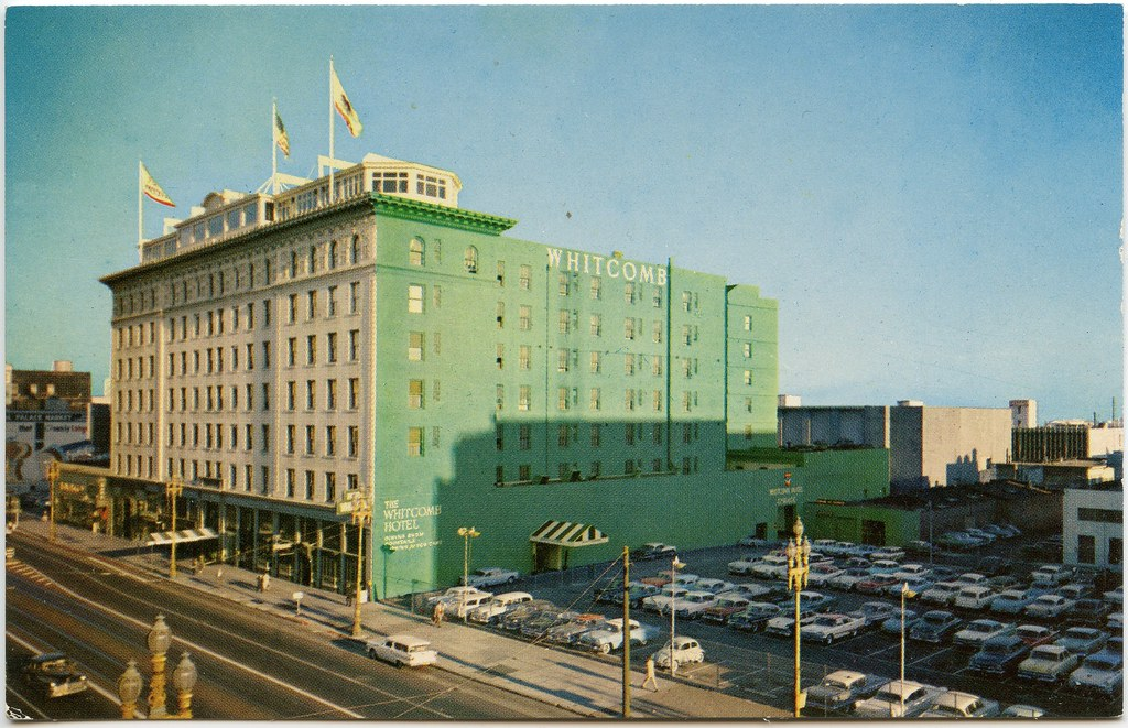 The whitcomb motor hotel 1960 the whitcomb motor Civic centre motor inn