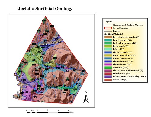 Surficial Geology of Jericho | by placeuvm