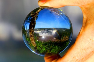Iguacu waterfalls, Foz do Iguacu – Brazil. Crystal ball | by kees straver (will be back online soon friends)